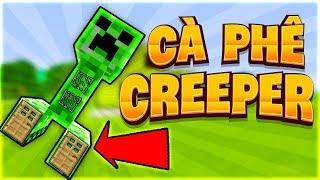 Cách Làm Tiệm Cà Phê Creeper Trong Minecraft (Minecraft)