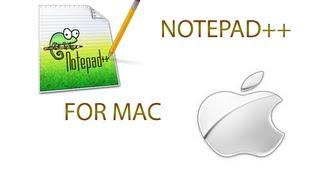 Notepad++ [MAC] DOWNLOAD