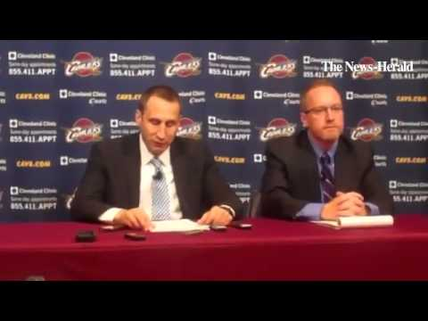 New Cavaliers coach David Blatt introduces himself to the local media