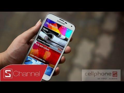 Trên tay Galaxy S5 phiên bản màu trắng