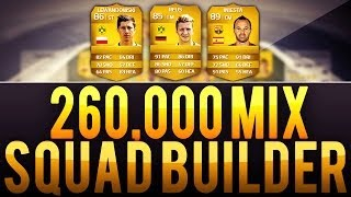 FIFA 14│INSANE 260K 3 LEAGUE MIX (BUNDESLIGA-BPL-BBVA