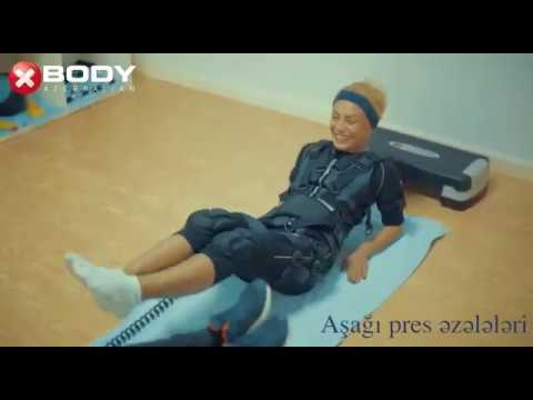 """""""XBODY Azerbaijan"""" fitnes studiyasının qonağı Nura Suri"""