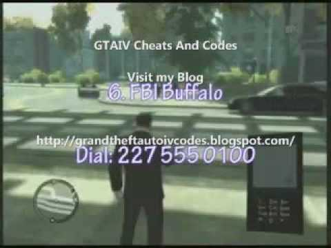 Grand Theft Auto IV Cheating Codes 100% Working