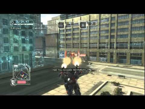 [HD]Transformers Revenge of the Fallen Optimus Prime Team deathmatch in Freeway