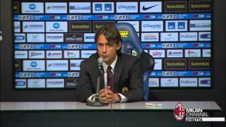 "Inzaghi: ""Spero di rimanere"" | AC Milan Official"