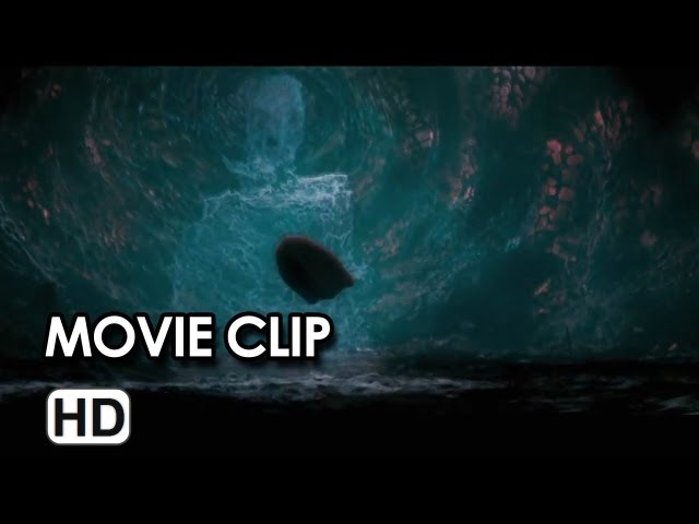 Percy Jackson: Sea of Monsters Movie CLIP - Those Aren't Sharks (2013) - Logan Lerman Movie HD