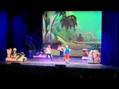 Disney Live! Jake and the Neverland Pirates - Ontario, CA 1-11-14 pt. 1
