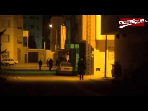 image video مواجهات ليلية بمنطقة 5 ديسمبر بالكرم