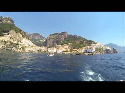 Holidays in Italy:   Amalfi Coast by Sea - Call 203.212.8310