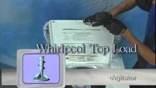 Washer Agitator Repair (Whirlpool, Maytag, Sears Kenmore