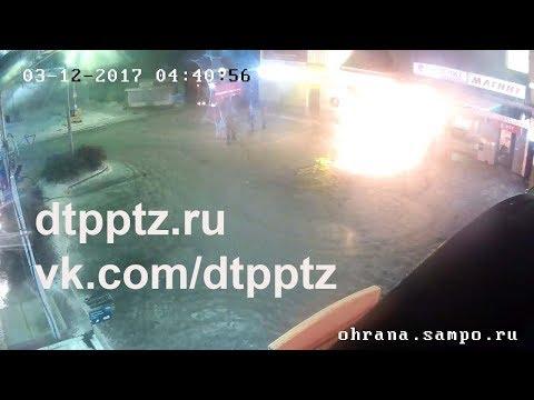 Ночью на Ключевой сгорел автомобиль