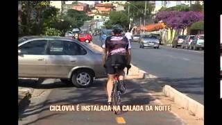 Morador reclama de ciclovia que foi instalada na calada da noite no Barreiro
