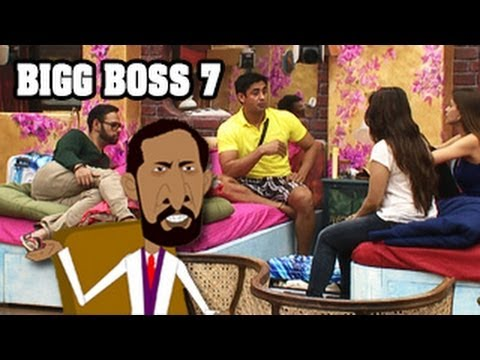 Bigg Boss 7 18th September 2013 Episode - Gauhar Khan Fight with Armaan Kohli