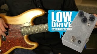 Watch the Trade Secrets Video, JHS Low Drive Bass Overdrive Pedal Kit Video