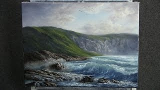 Paint With Kevin Hill The Rugged Coast