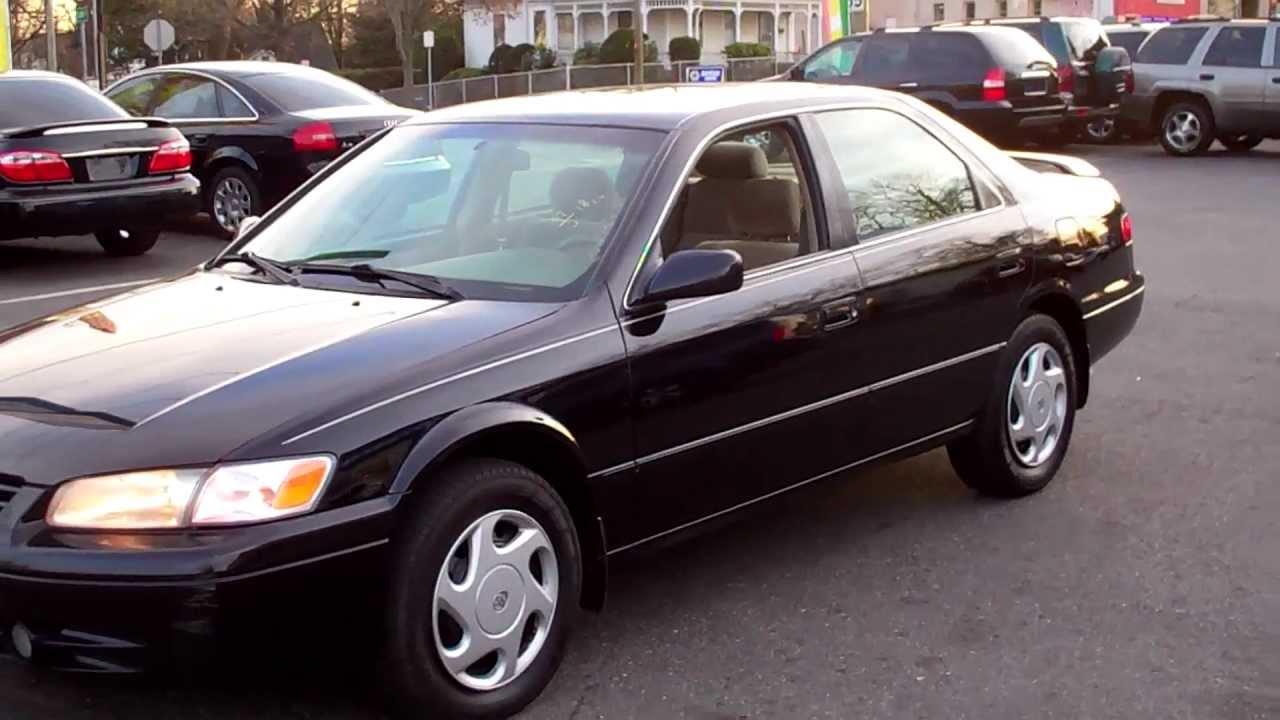 1998 Toyota Camry Le V6 Sedan 4dr 3 0l V6 At Youtube