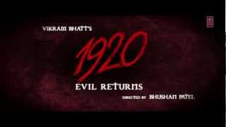 1920 Evil Returns Official Theatrical Trailer Aftab
