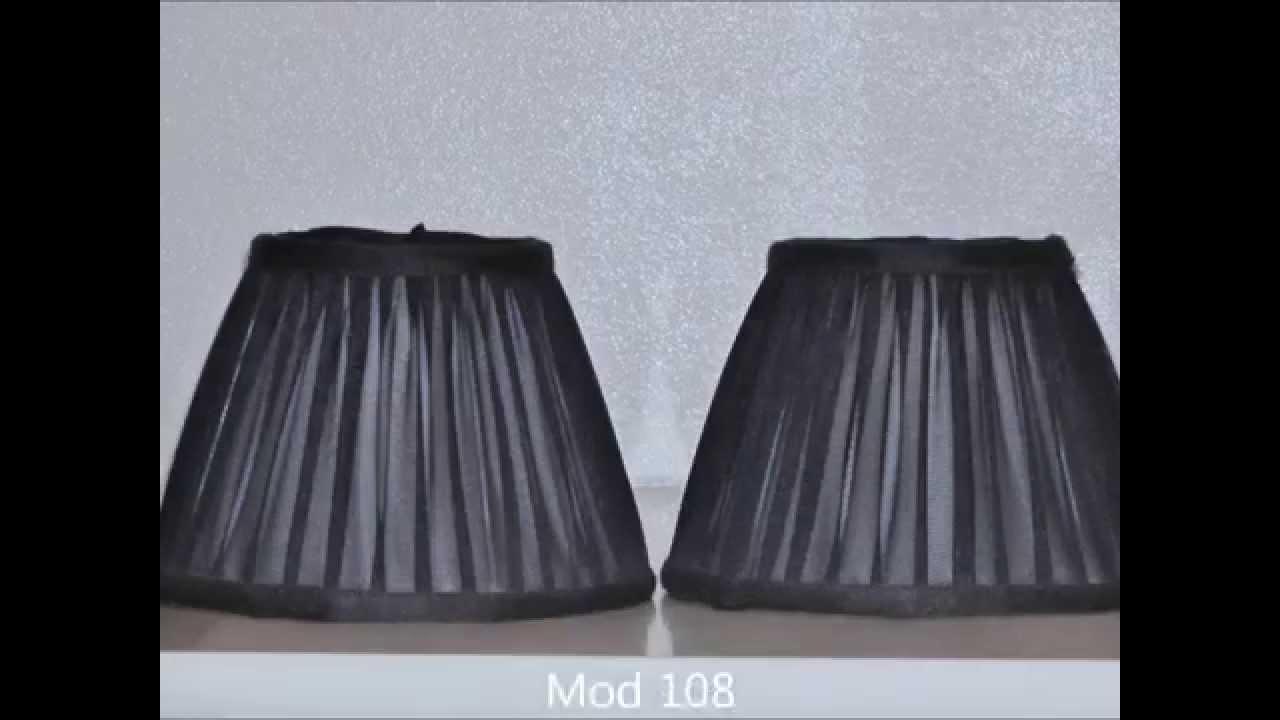 Cappellini per lampadari - Paralumi e Lumi - YouTube
