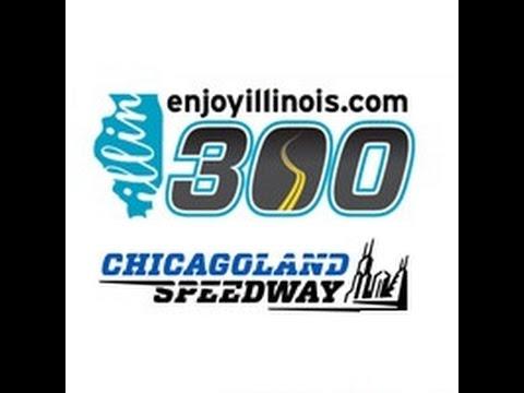 2014 NASCAR Nationwide EnjoyIllinois.com 300 at Chicagoland (FULL RACE)