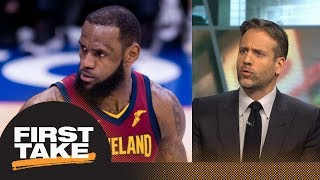 Max: LeBron James and Cavaliers aren't making the NBA Finals | First Take | ESPN