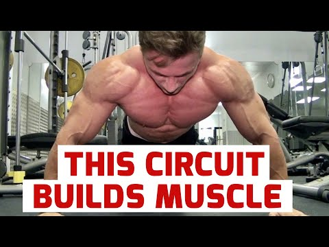 GIANT SETS, BUILDING MASS, WITH AWESOME YOUNG BODYBUILDER MICHAL