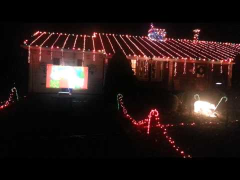 Christmas lights show,  Damascus,  MD