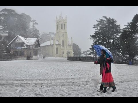 Heavy snowfall closes Himachal Pradesh roads