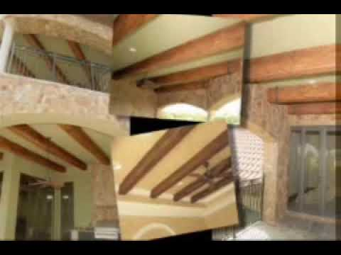 Cathedral Ceiling Ideas How To Install Imitation Wood Beams Youtube