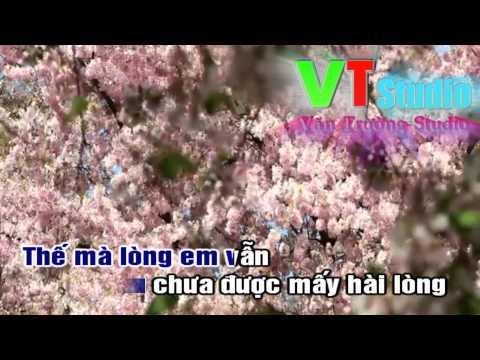 [karaoke HD1080] Hào Hoa remix (beat 2014) - Văn Trường Studio