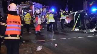 NRWspot.de | Letmathe – Auf Flucht vor Polizei Unfall gebaut – vier schwerverletzte Unbeteiligte