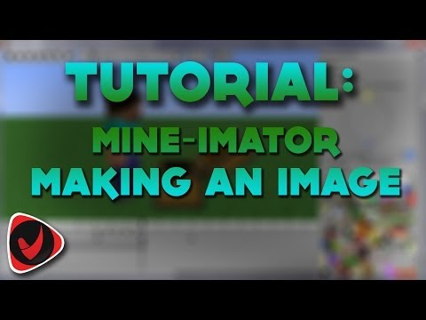 Minecraft Animation - Making an Image - Mine-Imator v.0.6.2