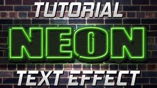Tutoriale - Photoshop | Neon Text (gric.ro)