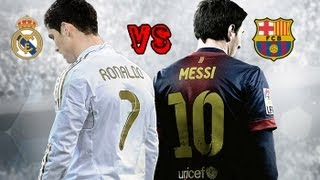 FIFA 14 Gameplay Barcelona Vs Real Madrid