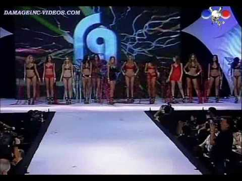 Leryn Franco -Desfile de Roberto Giordano 2010