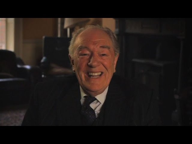 Michael Gambon unwraps his character Judge Garret Griffin - Quirke - BBC One