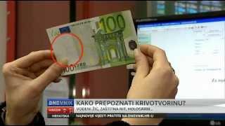 Dnevnik - Evo kako prepoznati lažnu novčanicu eura!