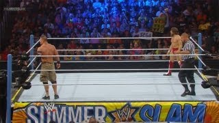 WWE Summer Slam 2013 : John Cena Vs Daniel Bryan WWE