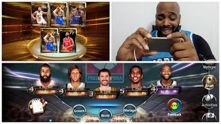 NBA All Net Legendary Cards Draw & Ranked Matches + Look