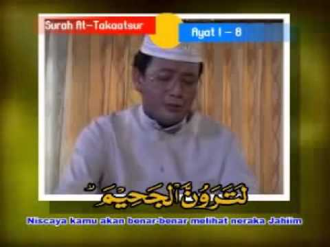 H Muammar Za   surah 'AT TAKAASTUR' YouTube