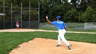 How To Pitch A Curveball Baseball Pitching