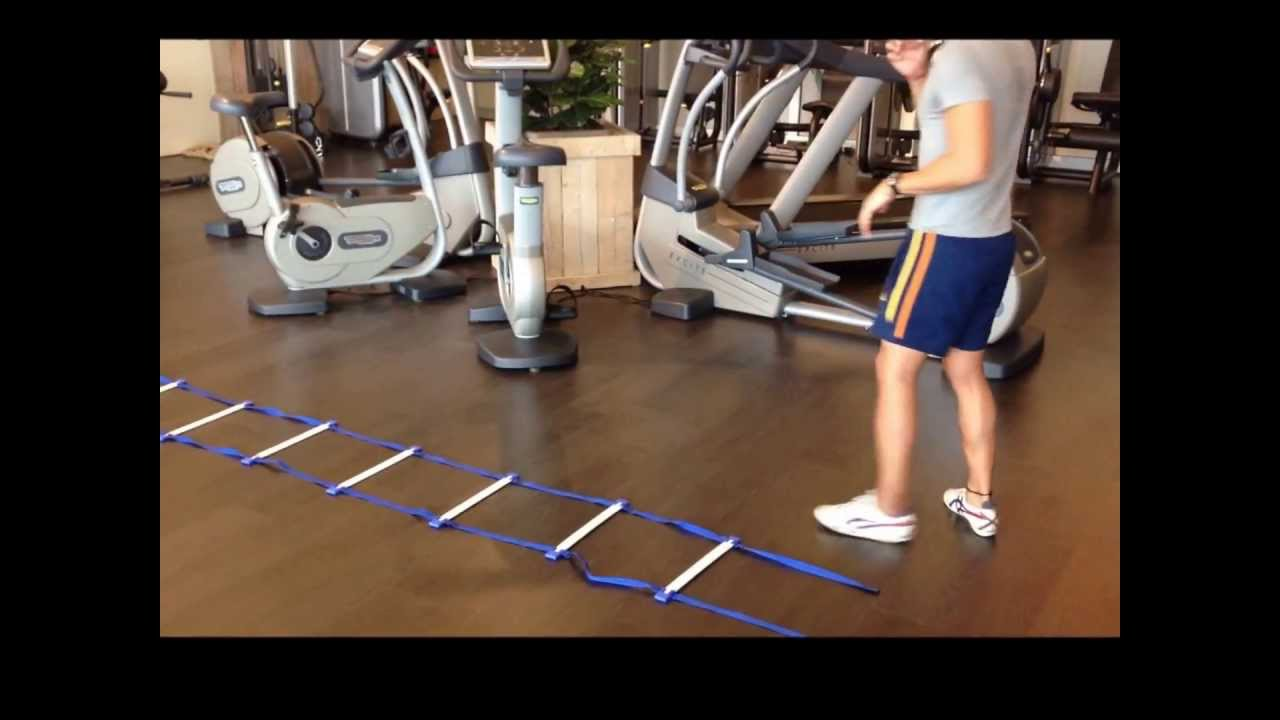 Ladder Agility Drills Youtube