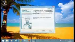 Instalando ESET NOD32 Antivirus 6 Con Serial