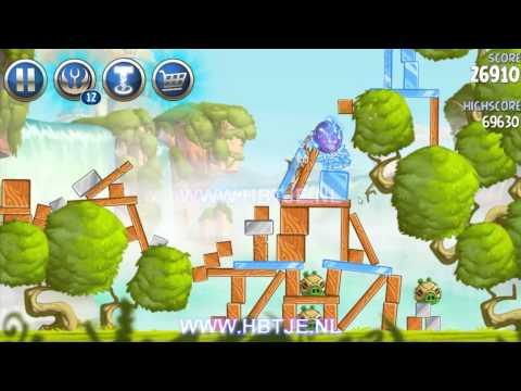 Angry Birds Star Wars 2 Naboo Invasion b1-19 3 stars
