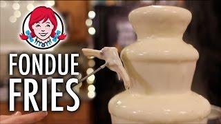DIY Wendy's LEGIT Fondue Fries