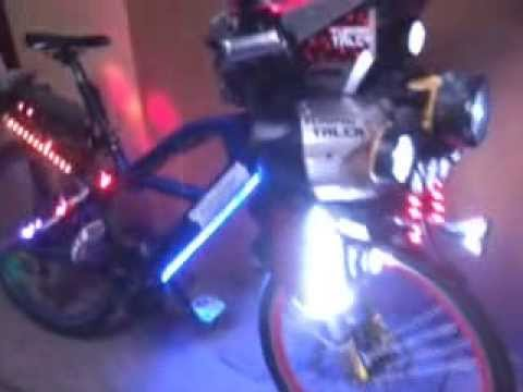 Bicicleta Tuning Talca 2013 Luxho Feña