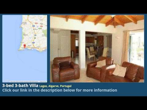 3-bed 3-bath Villa for Sale in Lagos, Algarve, Portugal on portugueselife.biz