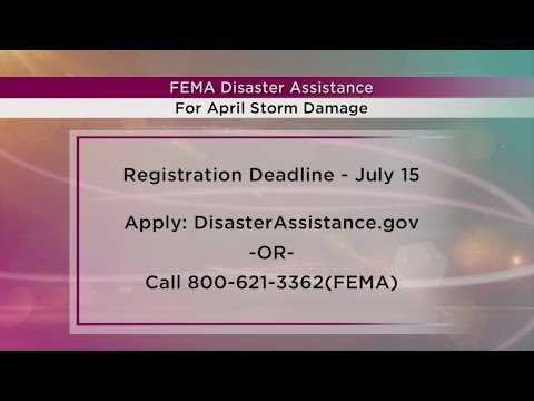 Studio 10: FEMA Disaster Assistance deadline extended