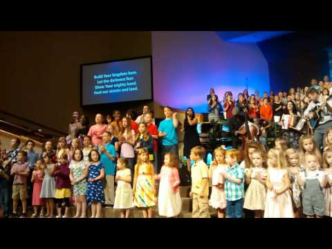 May 4, 2014 Bannockburn Baptist Church Preschool and Children's Choir singing