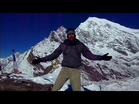 Yoga in the Himalaya Mountains, Nepal (Sun Salutations)