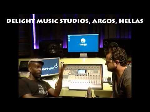 DELIGHT MUSIC STUDIOS - GREECE W/ MASTER DJ TONY SOUL & XAVIER STEEL DELIGHTRADIO.FM INTERVIEW